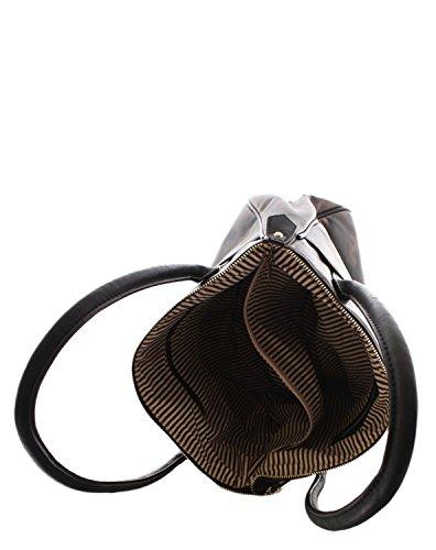 Sonia Originelli Militärtasche Tasche Handtasche Damen Shopper Bag khaki military EB-1