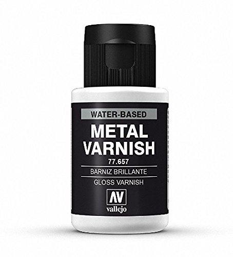 Vallejo Gloss Metal Varnish 32ml Paint -