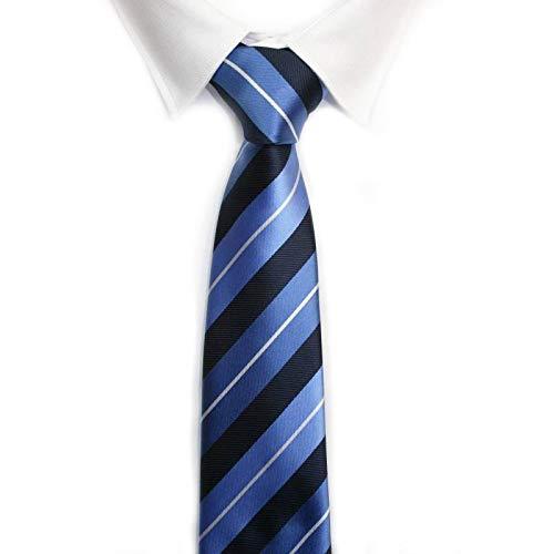 VIZENZO Corbata rayas azul electrico: Amazon.es: Ropa y accesorios