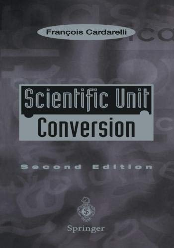 - Scientific Unit Conversion: A Practical Guide to Metrication