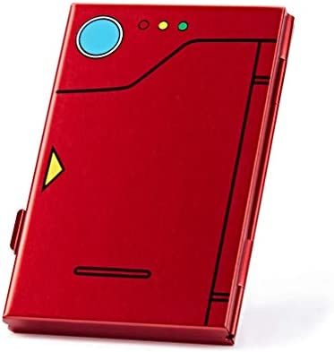 Funlab Premium Game Card Case For Nintendo Switch Portable And Thin Aluminum Game Storage Card Holder Box Suitable For 6 Game Cards Pokedex Red Amazon Com Au Video Games