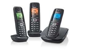 Gigaset A510 TRIO - Teléfono Fijo Inalámbrico (importado)