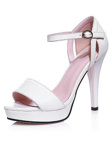 ShangYi Damens's Schuhes Stiletto Heel Peep Party Toe / Platform Sandales Party Peep & Evening / Dress schwarz / Pink / Weiß Pink 259c04