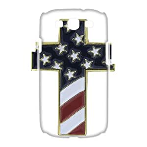 WAKEUP Jesus Christ Cross Customized Gifts Hard 3D Case For Samsung Galaxy S3 I9300