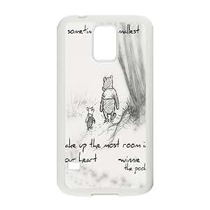 Customized Winnie the Pooh Hard Case For Samsung Galaxy S5 KHR-U582764