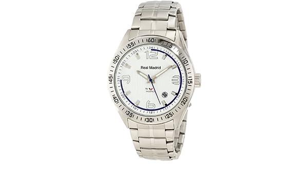 Viceroy 432839-05 - Reloj de Pulsera Hombre, Acero Inoxidable, Color Plata: Amazon.es: Relojes
