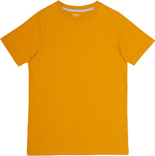 French Toast School Uniform Boys Short Sleeve Crewneck T-Shirt, Autumn Glory, Medium (8)