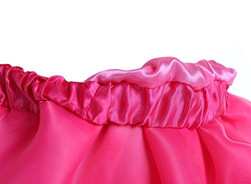 Bbonlinedress Enaguas Fladas Mujeres Cortas Retros Rockabilly Cancan Danza Fiesta Champagne