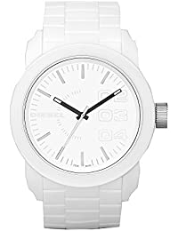 Men's DZ1436 Double Down White Silicone Watch