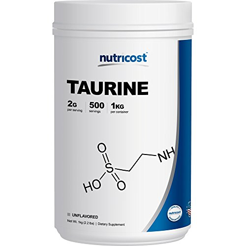 Nutricost Taurine Powder (1KG) - 500 Servings