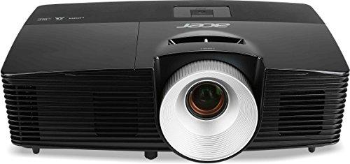 Acer X113PH 3D DLP-Projektor (3.000 ANSI Lumen, SVGA 800 x 600 Pixel, Kontrast 13.000:1, 1x HDMI 1.4a) schwarz