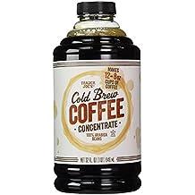 Trader Joe's Cold Brew Coffee Concentrate 100% Arabica Beans. 32fl. Oz