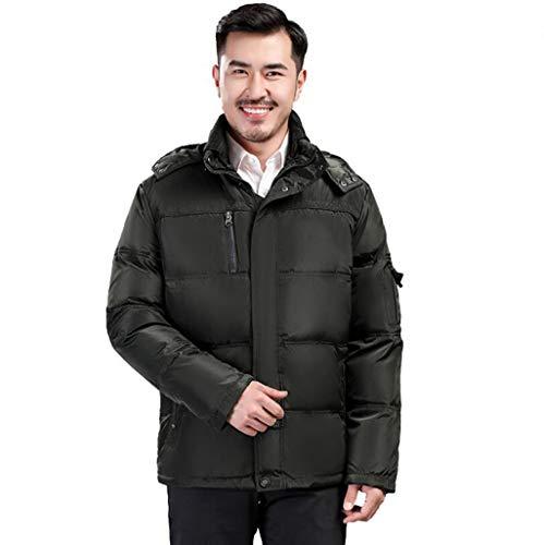 Edad Caliente Tamaño Con Abrigo Hombre Plumón Mediana color Espesar qAOwxOHZ