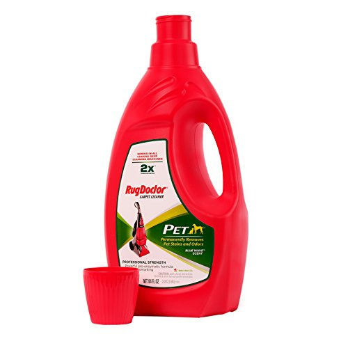 Carpet Cleaning Solution | Rug Doctor Pet Formula 64 oz. Works in All Leading Machines