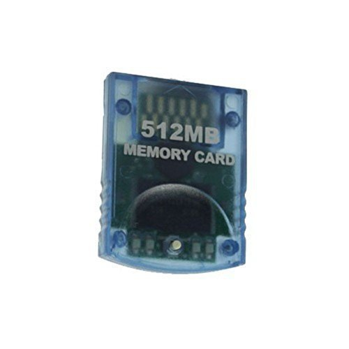 Gamilys 512MB Memory Card Compatible for Wii  Gamecube (Wii Console Memory Card)