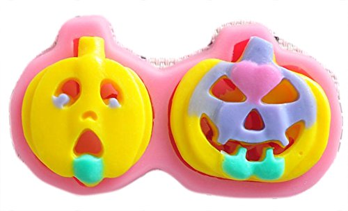 CC-JJ - Halloween pumpkins shower party fondant molds