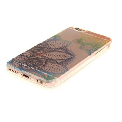 "MOONCASE iPhone 6 / 6S Hülle Case,Slim Handyhülle Schutzhülle Rutschfestem TPU Soft Backcover Bumper Case für iPhone 6S / iPhone 6 (4.7 "") TX35"