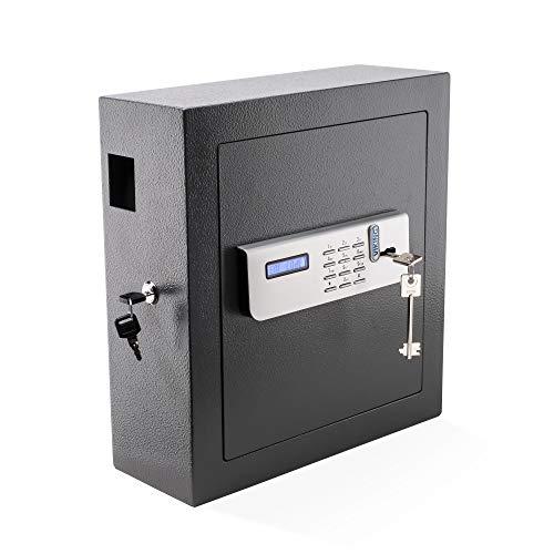 - Viking Security Safe VS-51KS Digital Key Cabinet Digital Key Safe with Lockable Drop Slot 51 Key Capacity