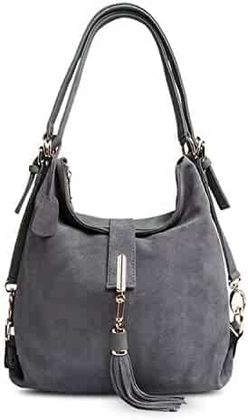 e4dfa5432487 Shopping Chibi-store - Greys or Silvers - Suede - Handbags & Wallets ...