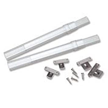 Curtain Rods curtain rods amazon : Amazon.com: Graber Crystal Clear Sash Curtain Rods - 2 Rods per ...