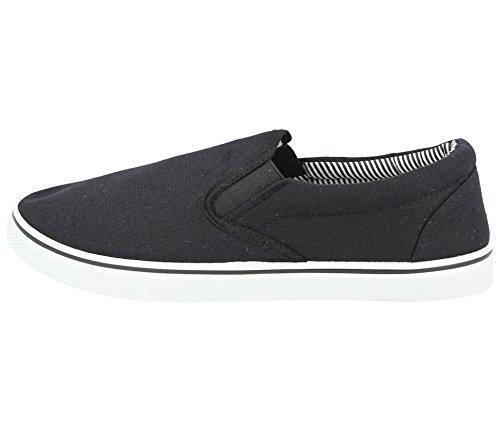 espadrillas Scarpe ideali disponibili nei all'abbigliamento a 5 Black da uomo ginnastica modello al antiscivolo mocassino da ideali scarpe casual 47 numeri abbinare 40 dal da OqaxwrtpO