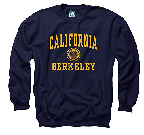 Ivysport California Berkeley Crewneck Sweatshirt, Legacy, Navy, Medium (Best Crewneck Sweatshirt)