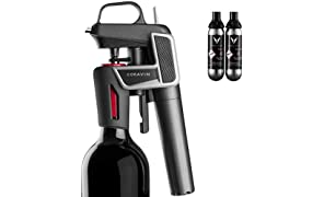 Coravin Model Two Premium Wine Preservation System, Includes 2 Argon Capsules, Graphite