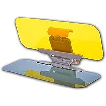 Car Windshield Visor Night Anti-Glare - Zone Tech Premium Quality Universal Sunshade and Night Vision Anti-Dazzle Windshield Driving Visor