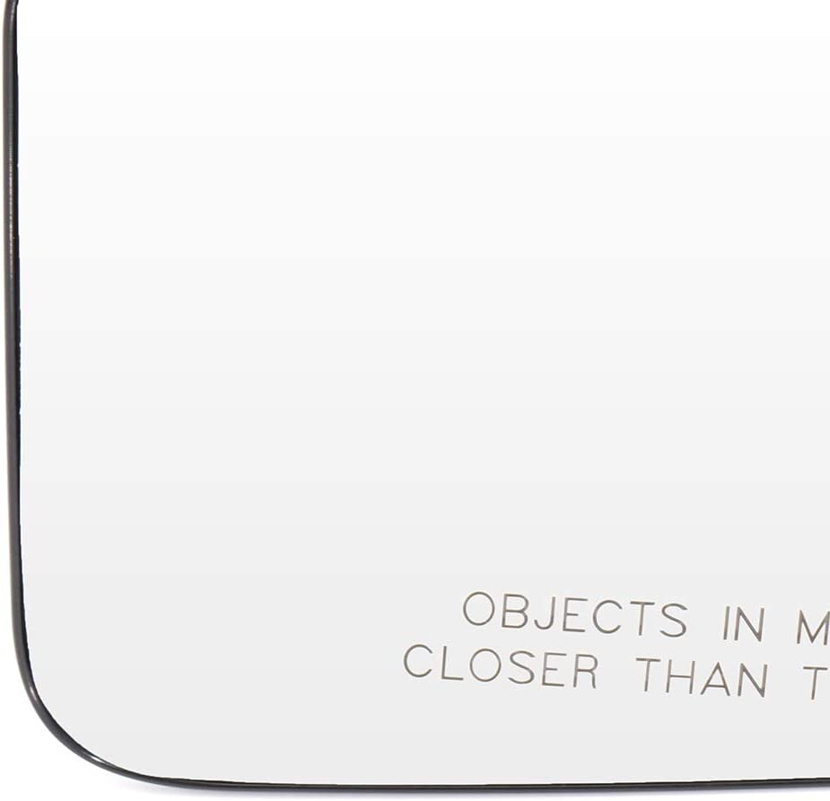 CTCAUTO Replacement Mirror Glass Right Side Passenger Side Mirror Glass Compatible with 2008 2009 2010 2011 Ford Focus Chrome Non-Heated 8K0949112E Convex