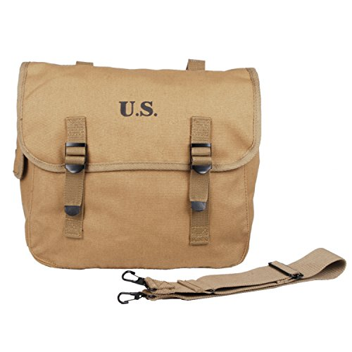 Heerpoint Reproduction Ww2 Wwii Us Army M1936 M36 Backpack Haversack Field  Bag Canvas (Khaki) dc6ae5b7fbe
