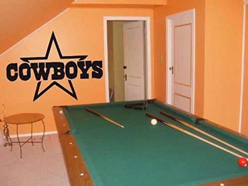 Dallas Cowboys 002 Wall art Sticker Decal]()