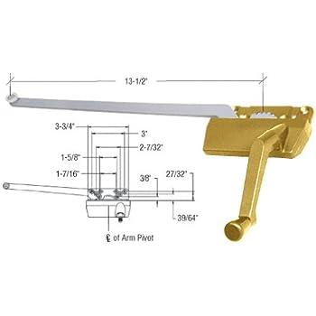 "CRL 13-1//2/"" Casement Operator Channel Guide For Wood Casement Windows"
