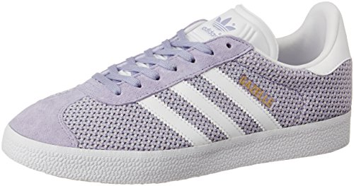 adidas Damen Gazelle Fitnessschuhe Lila (Easy Purple/Footwear White/Easy Purple)