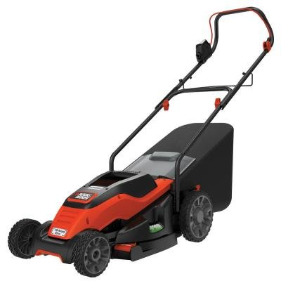 Electric Lawn Mower Corded 15 in. Features a Low Profile ...