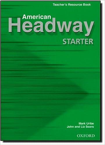 American Headway Starter Teachers Book