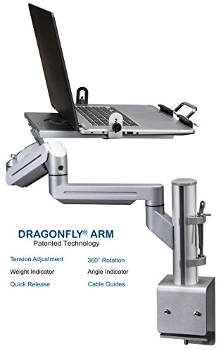 Treadmill Desk Workstation For Laptop iPad Tablet iPhone Standing Stand Board and Book Holder Great for Running Walking Working and Exercise Workout in Office and Home