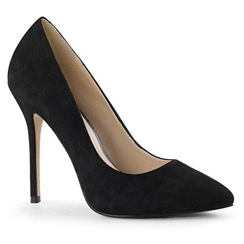 Heels-Perfect - Zapatos de vestir de Material Sintético para mujer Schwarz (Schwarz)
