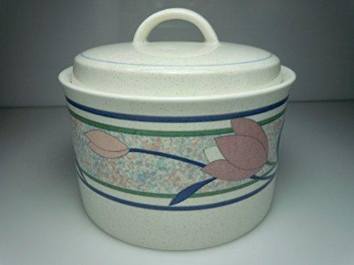 - Mikasa Tropical Island Sugar Bowl and Lid