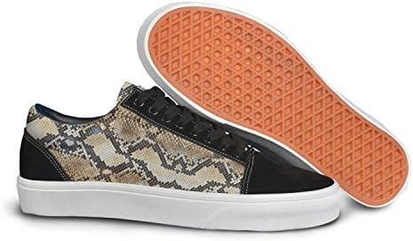 Python Snake Skin Animal Men Casual Sneakers Shoes Footwear Customize Nursing Original