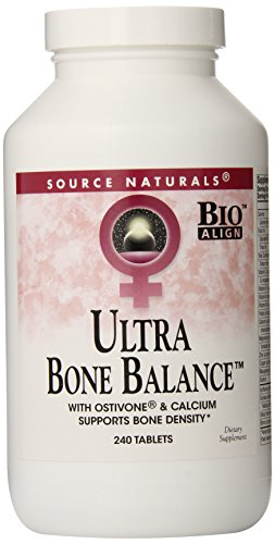Soy Isoflavone 240 Tabs - Source Naturals Ultra Bone Balance, Supports Multiple Body Systems, 240 Tablets