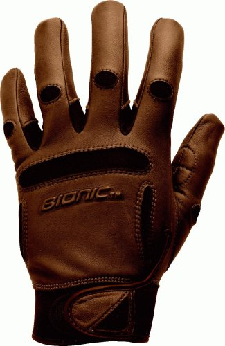 Bionic Driving Gloves - Bionic Men's Equestrian Gloves, Brown, XX-Large