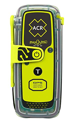 ACR ResQLink 400 - Buoyant GPS Personal Locator Beacon (Model: PLB-400) (Best Personal Locator Beacon)