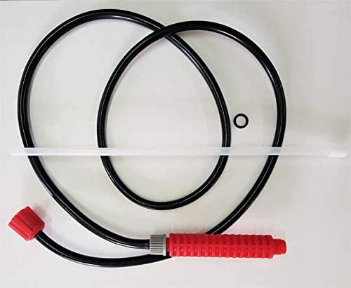 TABOR TOOLS Sprayer Spare Parts, Black Hose and White Uptake Tube, Suitable for TABOR TOOLS N-50 Sprayers (N50A-37)