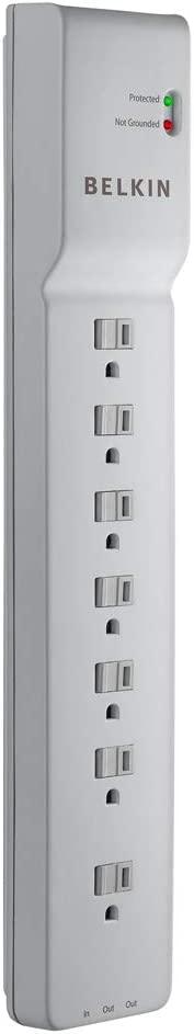 Belkin 7Outlet 12ft 2,320 Joules Power Strip Surge Protector Coupon