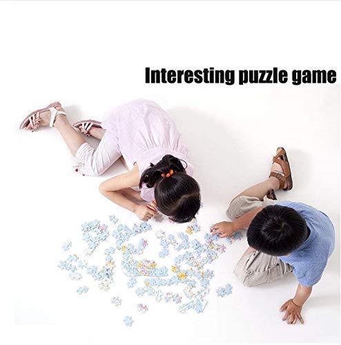 GUXUE Jigsaw Puzzle Holz Puzzle 1000 Teile Mutter und Kind Art Erwachsene Kinder Lernspielzeug Kätzchen Puzzles das vom großen Topf Sahne isst