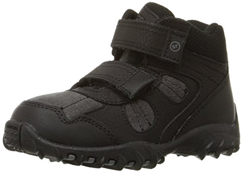 [Stride Rite Rugger Ritchie 2 Boot (Toddler/Little Kid), Grey/Black, 12.5 M US Little Kid] (Boys Boots Sale)