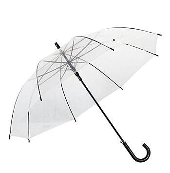 paraguas Paraguas Transparente Parasol Paraguas Automático Paraguas Pareja Paraguas Transparente Paraguas Parasol Negro sombrilla (Color