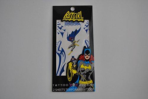 Tattoo Junkee Batgirl Temporary (Batgirl Makeup)