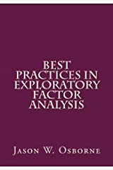 Best Practices in Exploratory Factor Analysis Paperback