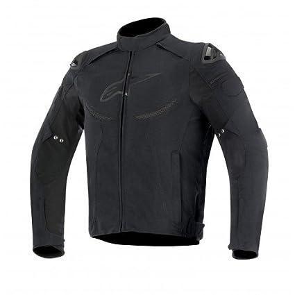 Alpinestars - Chaqueta para motocicleta, color negro, talla XL